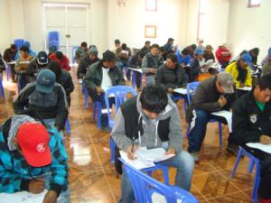 "Examen ""Forjando Futuro"" (Foto: Southern Perú)"
