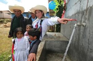 Sistema de agua potable. (Yanacocha)