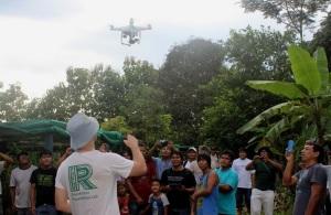 Drone en Madre de Dios (Andina)