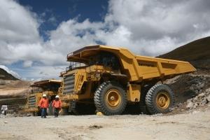 Producción minera.