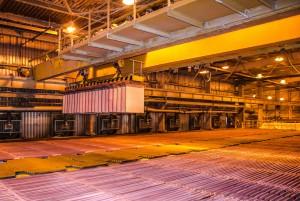 Producción de cobre (Southern Peru Copper)