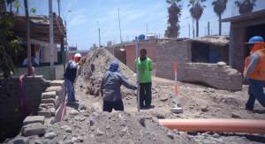 Se inicia la construcción de sistema de desagüe y planta de tratamiento de aguas en Centro Poblado Cañapay (Milpo).