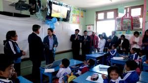 Aulas virtuales en Espinar (Antapaccay).