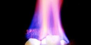 El hielo combustible podría ser la fuente de energía del futuro (USGS).