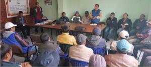Capacitación a agricultores de Humalíes, Huánuco (Antamina).