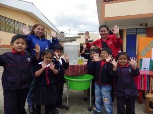 Instituciones educativas se capacitan en cuidado del agua (Yanacocha).