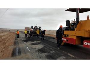 Mejoramiento de carretera en Grocio Prado (Nexa)