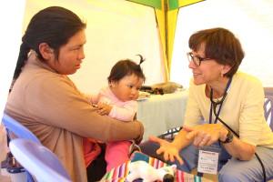 Campaña médica beneficia a pobladores de Lircay (Buenaventura).